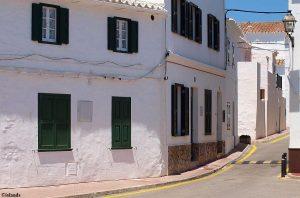 Wit op Menorca
