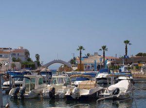Een haven op Menorca