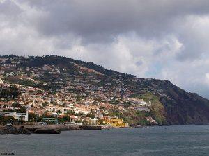 Het oosten van Funchal