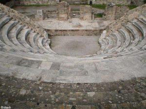 Het amfitheater van Kos