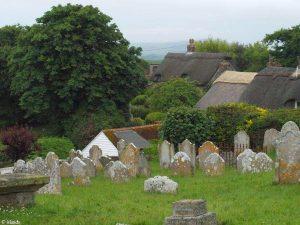 Het kerkhof van Godshill