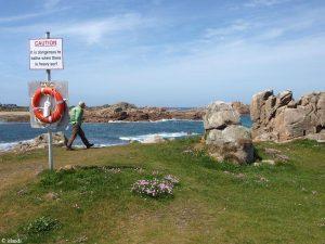 De langste zandstranden van Guernsey