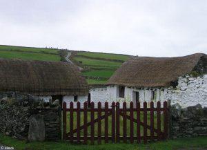 Boerderijen en huisjes in Cregneash