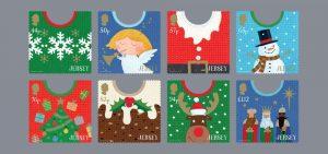 Kerstzegels Jersey