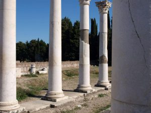 Monument uit de oudheid op Kos