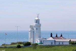 Vuurtoren op Isle of Wight