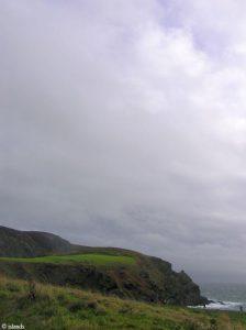 Het zuiden van het eiland Isle of Man
