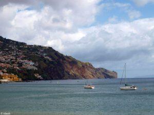 De rand van Funchal