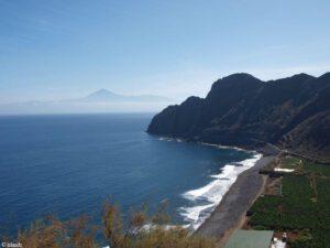 Een mooi uitzicht op het eiland Tenerife