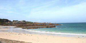 De baai van Port Soif
