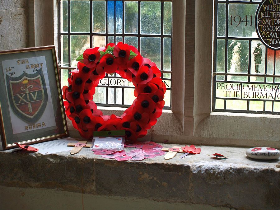 Herdenkingsplekje voor de Great War