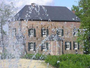 verpozen bij kasteel Erenstein