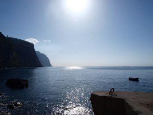 Kusten van het eiland Madeira