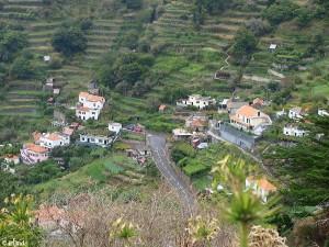 dorp in de bergen/village in the mountains
