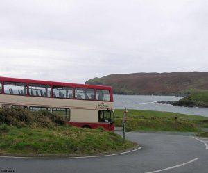 Met de bus naar Calf of Man