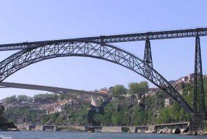 Bruggen in Porto