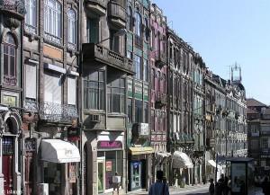straat in porto/street in porto