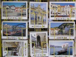 Ansichtkaarten in Porto