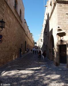 Een kleine wandeling door Rhodos-Stad