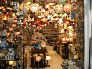 Lampenwinkel in Bodrum
