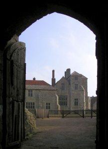 Poort Carisbrooke Castle