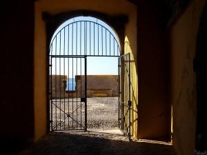 Eingang Fort Funchal
