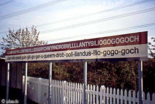 Llanfair PG Anglesey