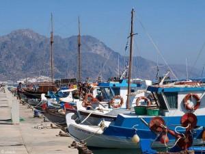 Hafen Kardamena Insel Kos