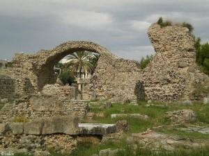 Reste der Römer in Kos-Stadt