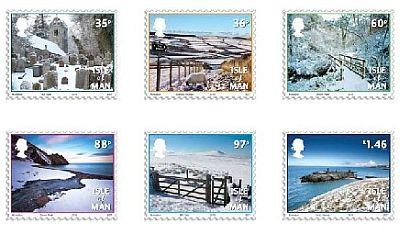 Isle of Man Weihnachtsbriefmarken