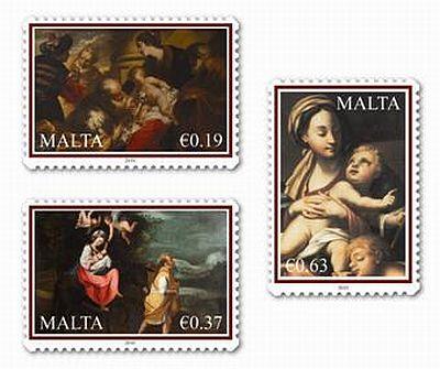 Malta Weihnachtsbriefmarken