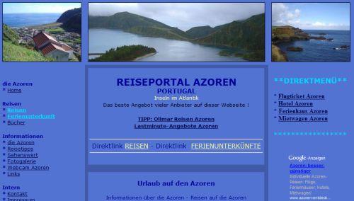 Reiseportal Azoren
