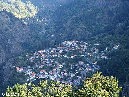 Das Nonnental von Madeira