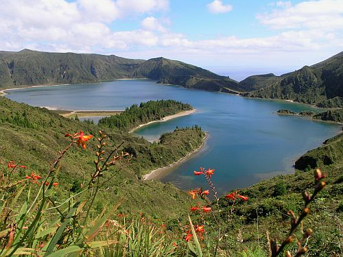 Kratersee Lagoa do Fogo