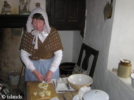 Bewohner von Cregneash