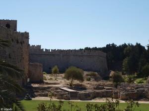 Stadtmauer Rhodos Stadt