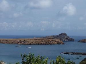 Küste bei Lindos