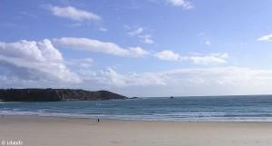 Strand auf Jersey