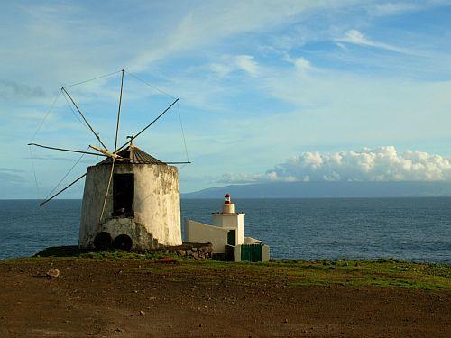 Windmühlen auf den Azoren