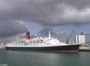 Kreuzfahrtschiff in Southampton