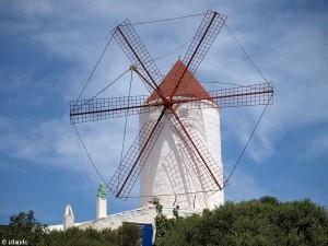 Die Mühle von Es Mercadal