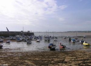 Der Hafen von Gorey