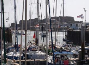 Hafen von Saint Peter Port