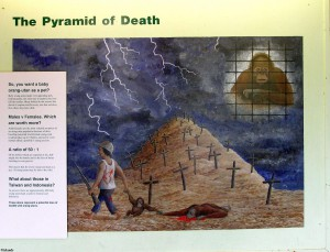 Die Pyramide der Orang-Utans