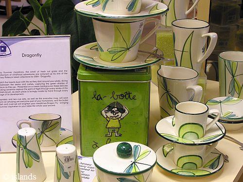 Keramik von Jersey