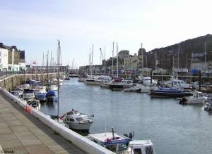 Der Hafen von Douglas