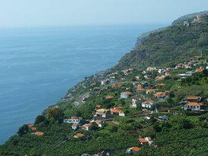 Die Küste von Madeira