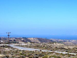 Die Landschaft von Kos
