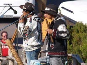 Strassenmusiker auf Madeira