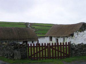 Farm auf der Insel Man